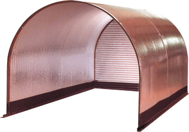 Metal Goat Shelters : Livestock shelters portable steel huts for